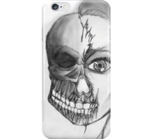 Is she love, or is she death? iPhone Case/Skin