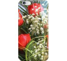 Bouquet with red roses 7 iPhone Case/Skin