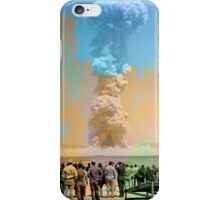 Nuclear Testing: Operation Teapot  iPhone Case/Skin
