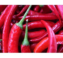 Hot chili peppers Photographic Print
