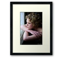 In the moment1 Framed Print