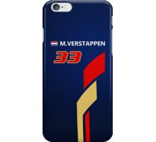 F1 2015 - #33 Verstappen iPhone Case/Skin