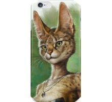 Fluffy Pretty Cat iPhone Case/Skin