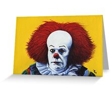 Pennywise (I) Greeting Card