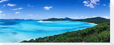 Hill Inlet - Nth Qld. by Tony Middleton