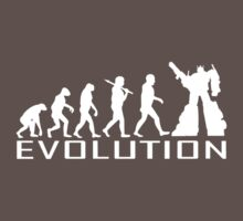 Custom darwin evolution of Robot new funny t-shirt T-Shirt