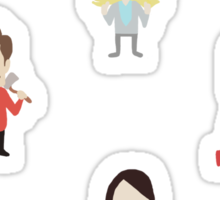 Parks and Rec Mini Stickers Sticker