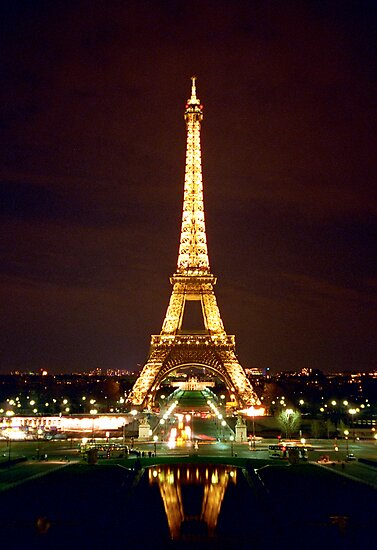 Eiffel Tower in Color by Heidi Hermes