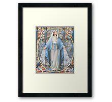 virgin miley Framed Print