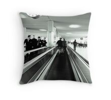 Time is runing out Throw Pillow