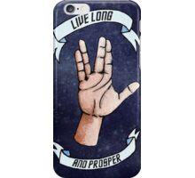 Live Long and Prosper, RIP Leonard Nimoy iPhone Case/Skin