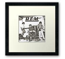 REM Framed Print