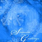 Season Greetings CHristmas Card by William Martin