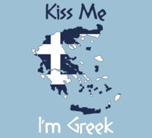 Kiss Me I'm Greek by Ryan Mallia
