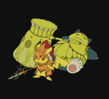 Snorlax & Pikachu by CStandsFor