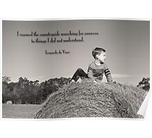 Countryside Wisdom Poster