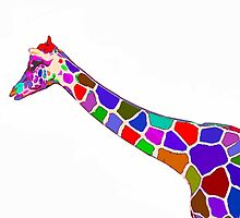 A More Colorful Giraffe by AspenWillow