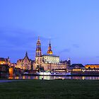 Dresden Canaletto View by Thomas Wolf