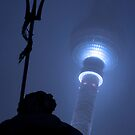 Neptune & The Fernsehturm by stephenmark photography