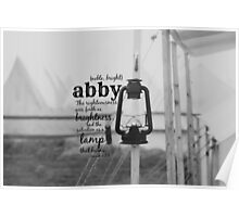 Abby Poster