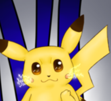 REBEL Pikachu Sticker