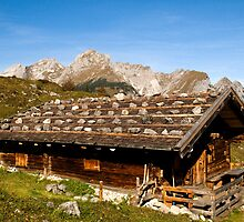 Alpine hut  by Klaus Offermann