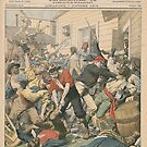 Le Petit Journal 7 Oct 1906 - 1906 Race Riot and results by Adam Asar