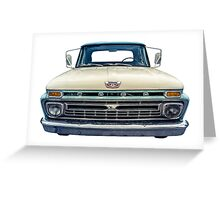 Vintage Ford Pickup Truck Greeting Card