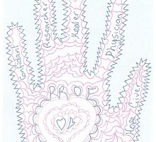 Prof's Hand by KazM