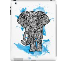 Tribal Elephant- Blue iPad Case/Skin
