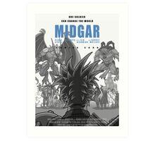 Midgar Art Print