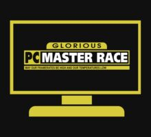 PC Master Race - Monitor Transparent by Chance McMichael
