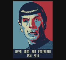 Spock - Lived long and prospered by prunstedler