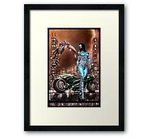 Cyberpunk Painting 047 Framed Print