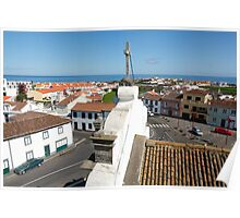 From the church tower Poster