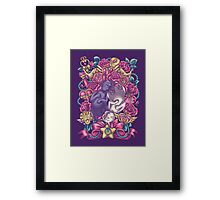 The Tao Of Meow Framed Print