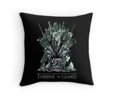 Throne of Games - You Win Or You Die - V2 Throw Pillow