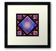 'Squares 7' Framed Print