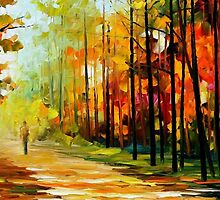 The Gold Of Nature — Buy Now Link - www.etsy.com/listing/224249708 by Leonid  Afremov