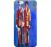 YOU AND I (BLUE) iPhone Case/Skin