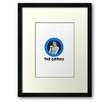 The Germs Framed Print
