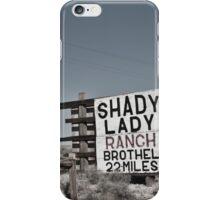 Shady Lady iPhone Case/Skin