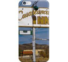 Casablanca Inn iPhone Case/Skin