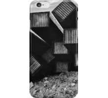 Along Route 66 tracks iPhone Case/Skin