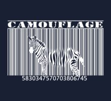 barcode camouflage zebra by hottehue