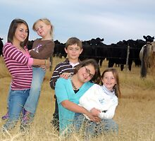 Cousins & Cows by courier