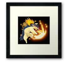 Epic Flaming Typholosion Framed Print