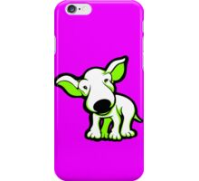 EBT Puppy White and Lime  iPhone Case/Skin
