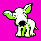 EBT Puppy White and Lime  by Sookiesooker