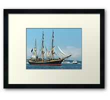 "The ""Picton Castle"" Framed Print"
